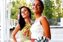 Mikael Ladies / Gorgeous ladies wear Mikael evening dresses!!! www.mikael.gr