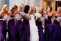 Dreamy purple wedding by mikael