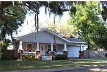 Seminole Heights Homes / A collection of things to do in the Seminole Heights area along with homes, town homes, and condos for sale in the neighborhood.