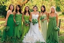 Green wedding by Mikael