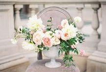 Rose Quartz + Spring 2016 Inspiration / Wedding & color inspiration based on Pantone's fashion color report for spring 2016 & color of the year, Rose Quartz.