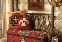 South western style interior design