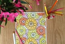 Stress Relieving Adult Coloring Books / Stress Relieving Adult Coloring Book titles from Blue Star Coloring.