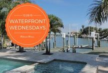 Waterfront Wednesdays / Every Wednesday, stay tuned for great pictures of homes along waterways in the Tampa Bay area.