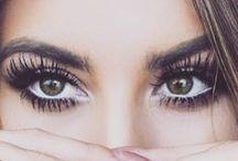 Eyes, lips, face,