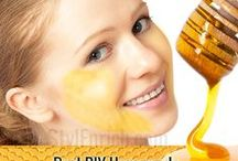 Homemade Face Masks Recipes / Find here effective and easy-to-make Homemade Face Masks Recipes that makes your skin shiny and smooth.