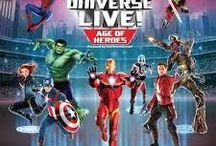 MARVEL UNIVERSE & DC COMICS ( Detective comics )