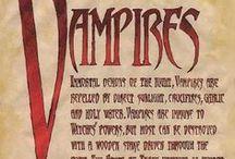 VAMPIRES, DRÁKULA, LICANS & WEREWOLFS