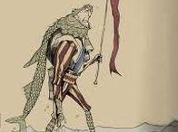 OANNES, GOD FISH OF MESOPOTAMIA - DAGON - KNEPH