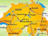 SWITZERLAND - BERNA - GENÉVE - MONTREUX - LUGANO - ZURICH