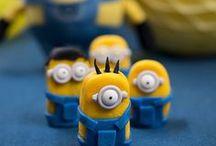 Minionsparty: DEKO & REZEPTE / Sie sind gelb, sie sind lustig und sie machen Laune: die Minions! it Rezepten, Deko, DIY-Ideen zeigen wir euch, wie eine Minion-Party ganz einfach gelingt!