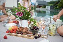Picknick -  Ideen & Tipps / Wir lieben Picknick! Rezepte zu Mitnehmen, Drinks und Ideen für den Picknick-Korb.