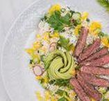 SOMMER: Rezepte, Deko & DIY / Rezept Ideen für sommerliche Gerichte und sommerliche Deko & DIY Ideen für einen schön gedeckten Tisch im Sommer.