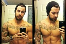 Yum / Just sexy, bearded, tattooed, and manly men. I may have a man but I can look :)  / by C.C.