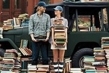"""Bookworms / """"Never trust anyone who has not brought a book with them.""""  ― Lemony Snicket, Horseradish: Bitter Truths You Can't Avoid"""