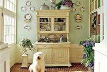 Home decor inspiration / Beautiful boho cottage chic