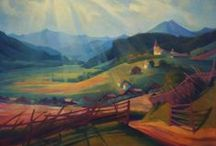 Austrian artists / the most famous contemporary Austrian artists of the nineteenth and twentieth century