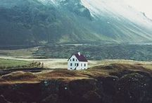 Iceland / A mythical kingdom ruled by elves and Arctic energy. Iceland is where the past meets the future in an elemental symphony of wind, stone, fire and ice.