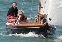 Wooden Sail Dinghy