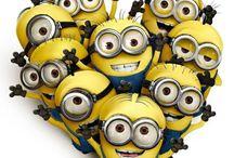 Minion♡ / Tutte le foto dei Minion (esserini gialli del film Cattivissimo me).