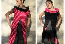 FRAKNIKI / FRAKNIKI. It's a dress worn as a sweater or as a frak to enrich our everyday lives avaible in wool outside, cotton inside or only viscose. It's doubleface too. Handmade, 100% made in Italy