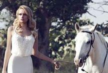 Inspirace l Nevěsta / Inspirativní fotografie nevěst, šatů a účesů.
