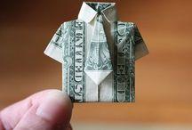 Origami / Lekker vouwen. Vooral iets van bankbiljetten voor op het kussen in hotels (als fooi)