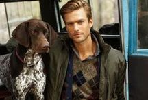 Autumn And Winter Fashion / Casual classic preppy autumn and winter style clothes for men