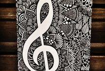 Doodles - Zentangles - Lettering