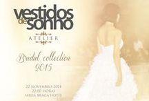 """Convite """"Desfile Bridal Collection 2015"""" / Convida-mo-la a assistir, ao desfile de apresentação da coleção em vestidos de noiva para 2015, que decorrerá no dia 22 de Novembro no Meliã, em Braga pelas 22:00h. Será uma honra, podermos contar com a sua presença."""