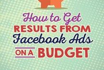 Facebook Tips for Business / facebook ads, tips, tricks, strategies, for how to grow your following and use facebook for business