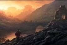Fantasy Art / Works of art which deal with Fantasy themes.