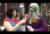 Cosplay: Video / Here you'll find cool cosplay video -- feature pieces, interviews (including our own), convention panels... if it's on camera, it's here. / by SciFi4Me