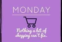 Legitimate Reasons To Shop! / Funny, quirky quotes about shopping
