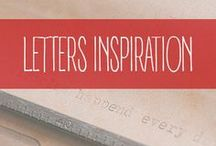 Letters - Inspiration / Handlettering, calligraphy and typography inspiration.