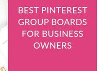 Pinterest Tips / Tips, Tricks, and Tutorials for using Pinterest to grow your blog or business brand awareness and visibility!