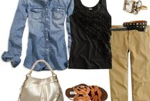 Fashion fades, style is Timeless / Clothing i love and a few fads...wardrobe basics.