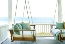 Takin a nap on the Porch / ideas and inspiration for porches. Plain and simple big or small. Just plain simple cool ideas and a little daydreaming on the way.