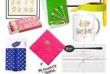 Coveted & Loved Products / by Anne Miner