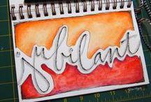 Art Journal Ideas.  / by Misty LaFree