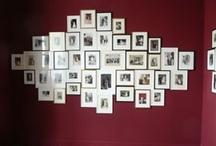 Wall Pictures Ideas / Idées pour décorer vos murs avec des images / Ideas to decorate your walls with pictures