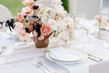 Reception Details / Ideas to make your reception tables look amazing.