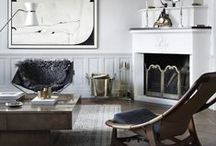 Chic Home  Decor / Interiors that speak to when I am feeling chic.