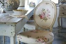 shabby love / bedrooms and living spaces….shabby and cottage style / by Deanna