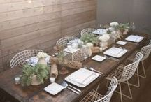 Dining rooms / by Teal Johnson