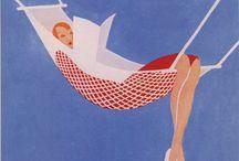 Vintage illustration / Illustrations from past eras
