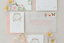 Invitations & Save the Dates / Ideas for your first impression.