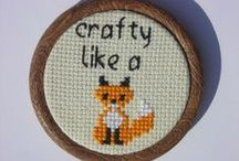 Crafty Foxes / Ideas for 'Crafty Foxes' workshops at Wixams Vixens WI