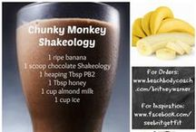 Shakeology / This meal replacement shake has over 70 natural ingredients with no additives! It helps lose weight, increase energy, keep you fuller longer, eliminates cravings, and tastes AMAZING!!