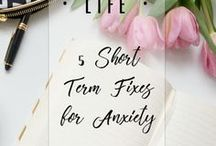 Anxiety & Mental Health / Tips on dealing with anxiety, boosting your well-being, being happier and general mental health awareness